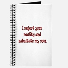 Reject Reality Journal