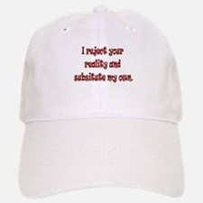 Reject Reality Baseball Baseball Cap