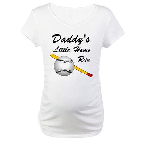 Dad's Home Run Maternity T-Shirt