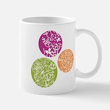 Tertiary Floral Circles Mugs