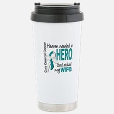 Cervical Cancer HeavenN Travel Mug