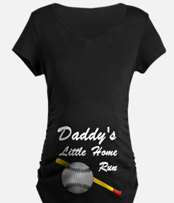 Dad's Home Run (belly image)T-Shirt