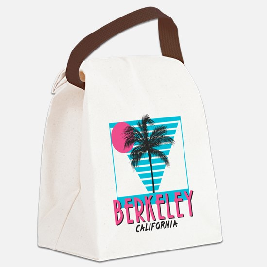 Berkeley california Canvas Lunch Bag