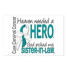 Cervical Cancer HeavenNee Postcards (Package of 8)