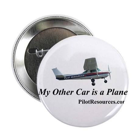 """My Other Car is a Plane"" Button"