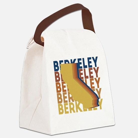 Cool Berkeley california Canvas Lunch Bag