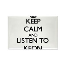 Keep Calm and Listen to Keon Magnets