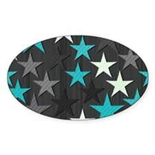 Abstract Stars Decal