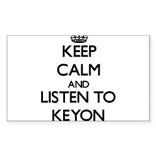 Keep Calm and Listen to Keyon Decal