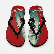 Shark Attack Flip Flops