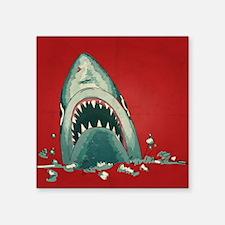 Shark Attack Sticker