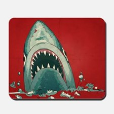 Shark Attack Mousepad