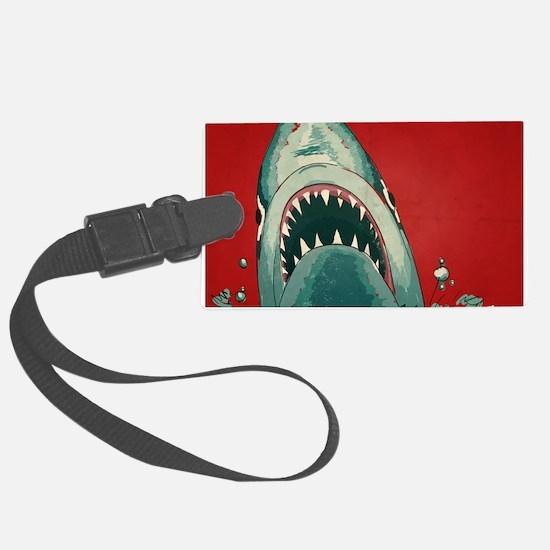 Shark Attack Luggage Tag