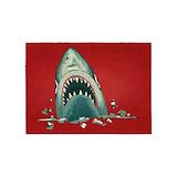 Cool shark 5x7 Rugs