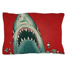 Shark Attack Pillow Case
