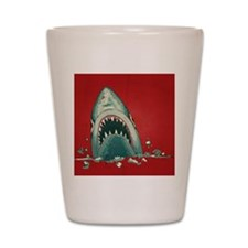 Shark Attack Shot Glass