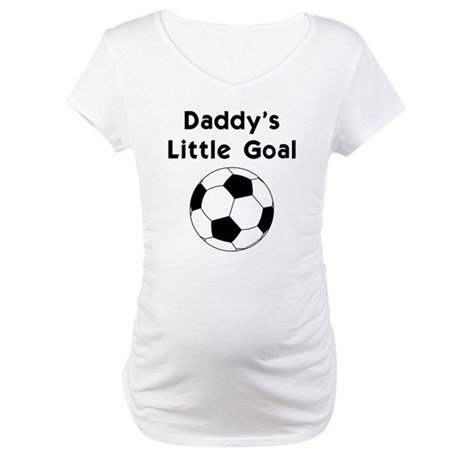Daddy's Goal Maternity T-Shirt