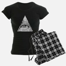 Eye of Providence White Pajamas