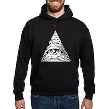 Eye of Providence White Hoodie