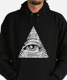 Eye of Providence White Hoody
