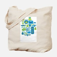 Sights of Seattle Tote Bag