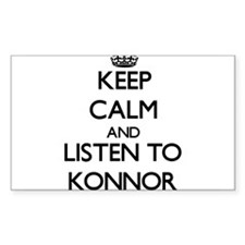 Keep Calm and Listen to Konnor Decal