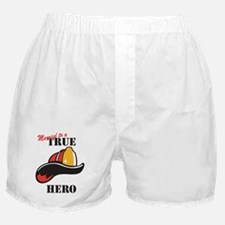 Married to a Firefighter Boxer Shorts