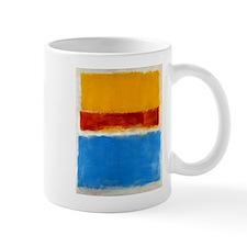 ROTHKO BLUE YELLOW RED Mug