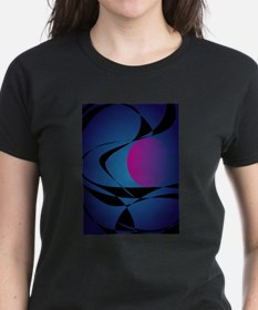 A Pink Moon and Clouds T-Shirt
