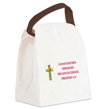 I CAN DO... Canvas Lunch Bag