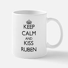 Keep Calm and Kiss Ruben Mugs