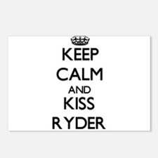 Keep Calm and Kiss Ryder Postcards (Package of 8)