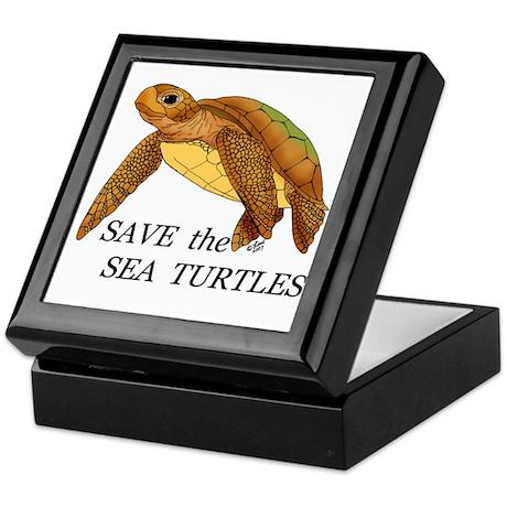 Save the Sea Turtles Keepsake Box