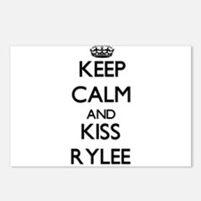 Keep Calm and Kiss Rylee Postcards (Package of 8)