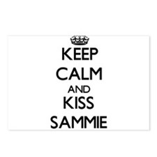 Keep Calm and Kiss Sammie Postcards (Package of 8)
