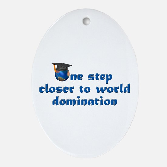 Graduation Gifts Law Oval Ornament