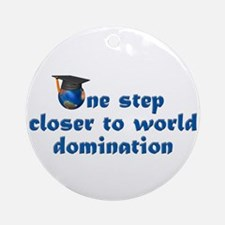 Graduation Gifts Law Ornament (Round)