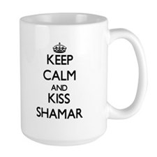 Keep Calm and Kiss Shamar Mugs
