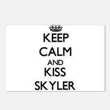 Keep Calm and Kiss Skyler Postcards (Package of 8)