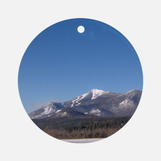 Whiteface Mountain Ornament (Round)
