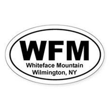 Whiteface Mountain Oval Decal