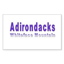 Whiteface Mountain Rectangle Decal