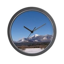 Whiteface Mountain Wall Clock