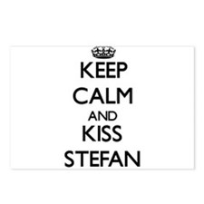 Keep Calm and Kiss Stefan Postcards (Package of 8)