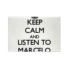 Keep Calm and Listen to Marcelo Magnets