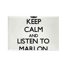Keep Calm and Listen to Marlon Magnets