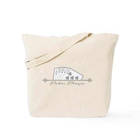 Poker Player Tote Bag