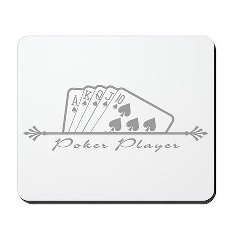 Poker Player Mousepad