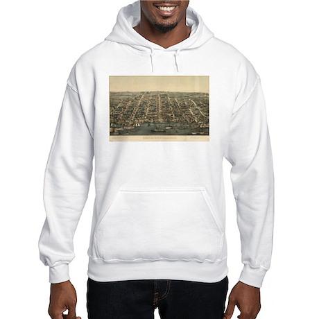 Vintage of Alexandria, VA. 18 Hooded Sweatshirt