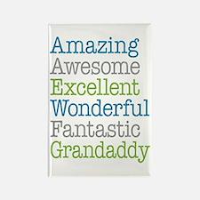 Grandaddy -Amazing Fantastic Rectangle Magnet
